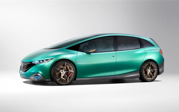 Honda Concept S side view