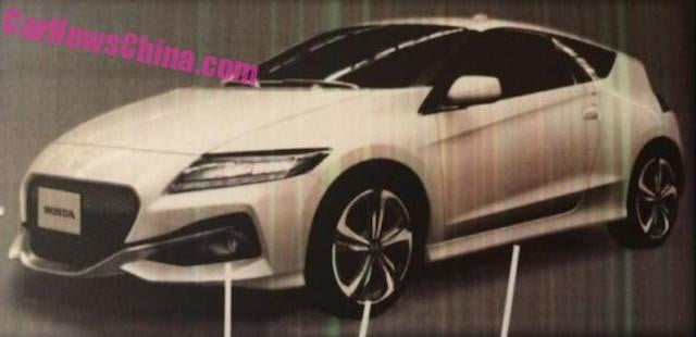 redesigned honda cr z pictures specs news leak