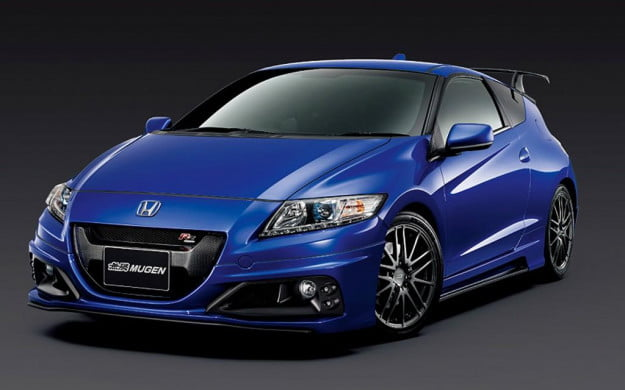 Honda CR-Z Mugen RZ front three-quarter view