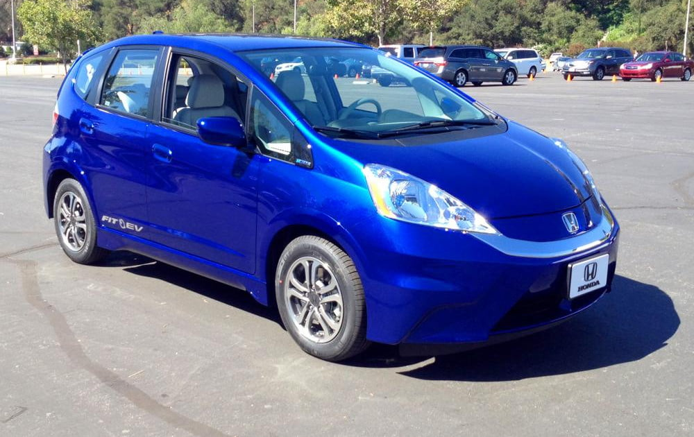Honda expanding fit ev lease market to the east coast digital trends for Honda fit lease price