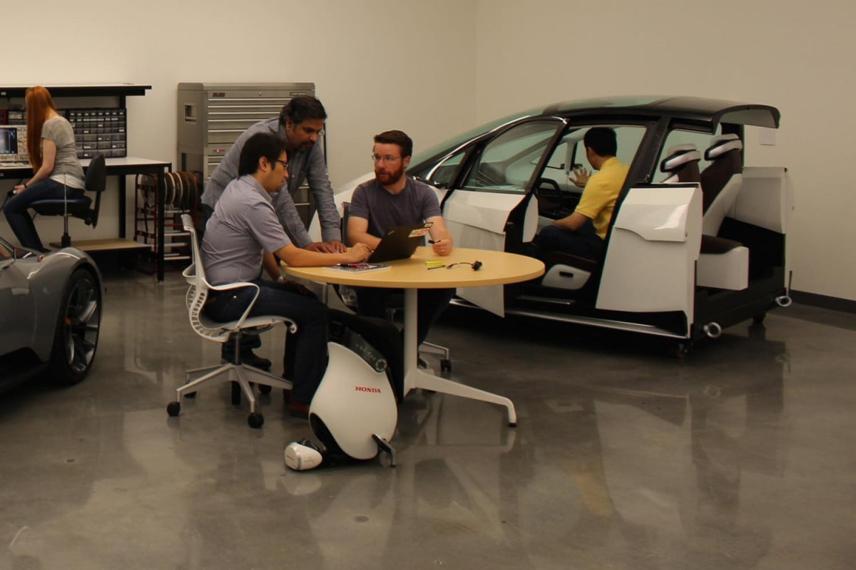 honda gets green light to test self driving cars on california roads silicon valley r amp d center