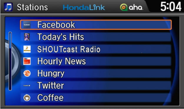 HondaLink adds Twitter, Facebook, and more to new cloud-based infotainment system