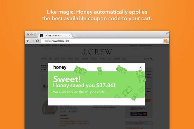 Honey add-on