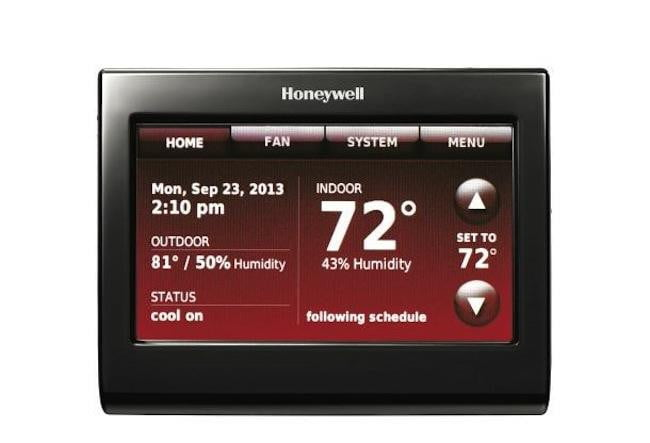 honeywell smart thermostat adds a voice control edition digital trends. Black Bedroom Furniture Sets. Home Design Ideas