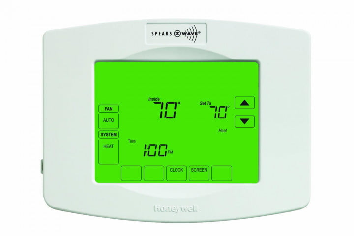 smarten dumb house z wave automation honeywell enabled programmable thermostat