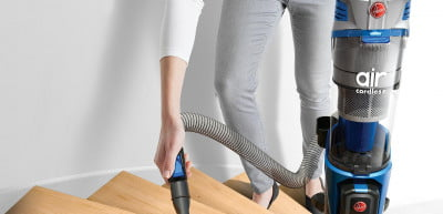 Hoover's Air Cordless Lift has a detachable canister, so it's portable.