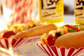 Where's my hot dog emoji? Oh. Right. It doesn't exist. Image via Andy Post Productions.