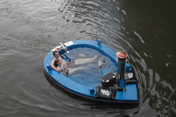 hot tug the jacuzzi boat is hottest ride youll have year round couple