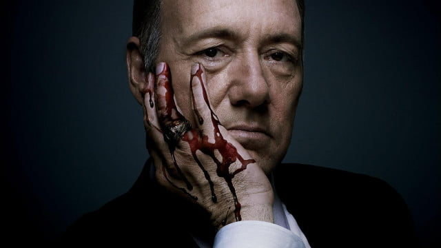 house of cards available on netflix preview promo shot