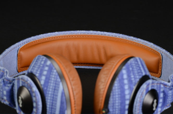 house of marley riddim review on ear headphones em jh  sk canvas and leather headband