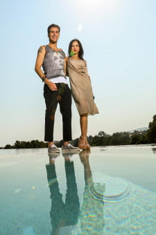 House of Rock edge infinity pool Perry Farrell interview