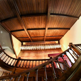 House of Rock entrance stairway