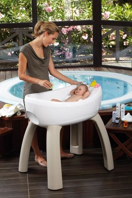 How about a baby jacuzzi for your one percent offspring