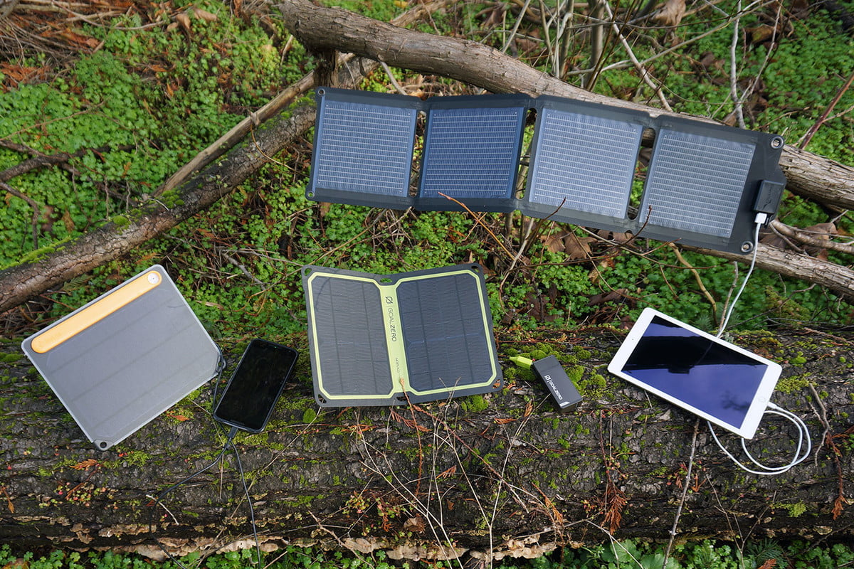 how to choose a solar panel charger for backpacking buy
