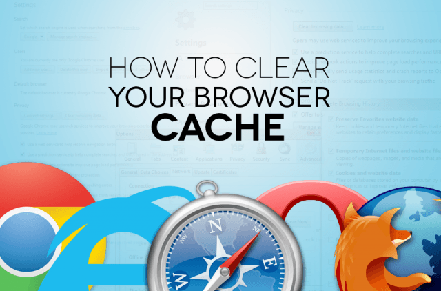 how to clean your cache