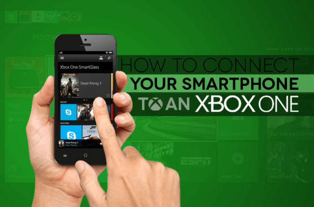 How to connect smartphone to Xbox One copy