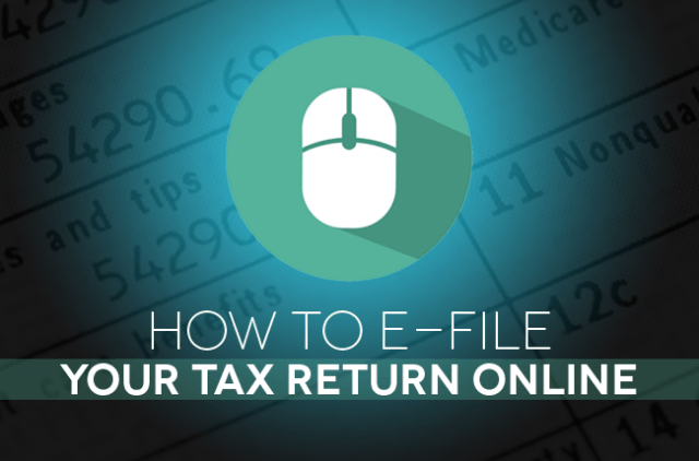 How to e-file your tax return online Header Image