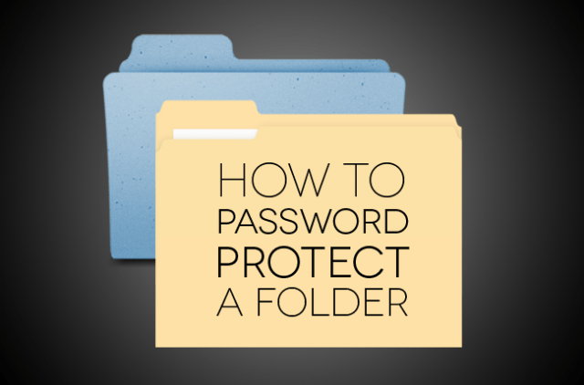 how to password protect folder windows mac os x apple microsoft a