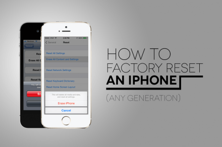 How to reset an iPhone header image