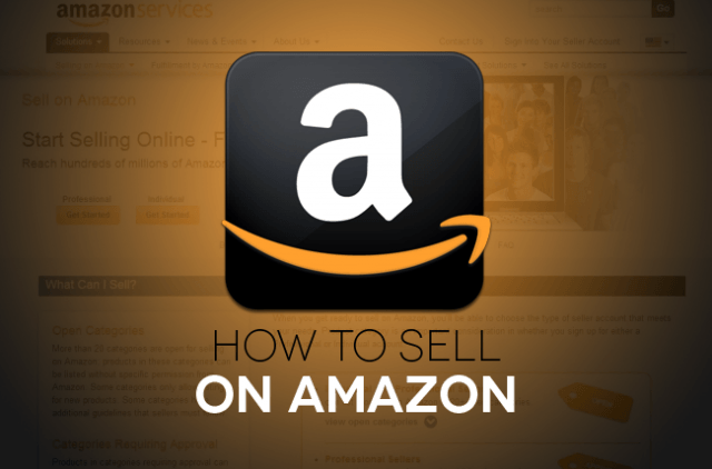 How to sell on Amazon copy