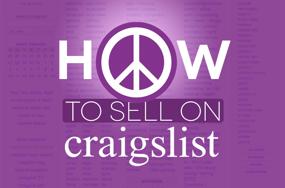 How to Sell on Craigslist Header Image Final