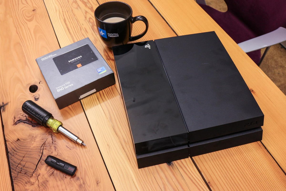 how to install upgrade ssd ps  playstation with