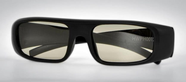HP 2311gt 3D LED LCD monitor review 3d pair glasses