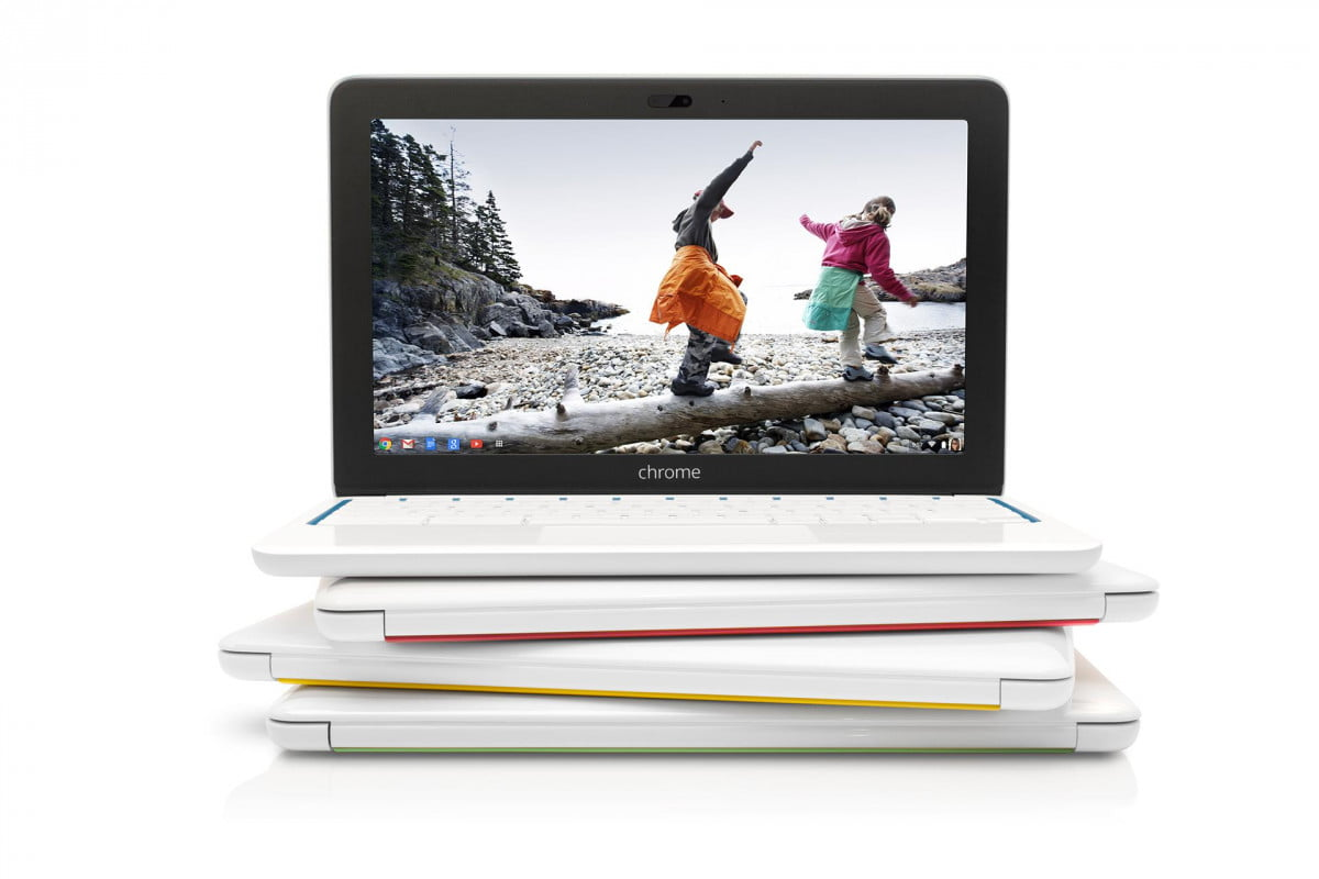 hp chromebook  color stack