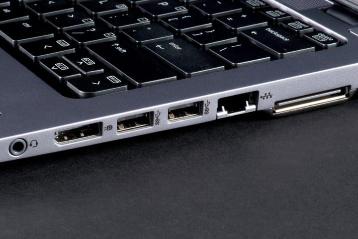 hp elitebook  g review ports