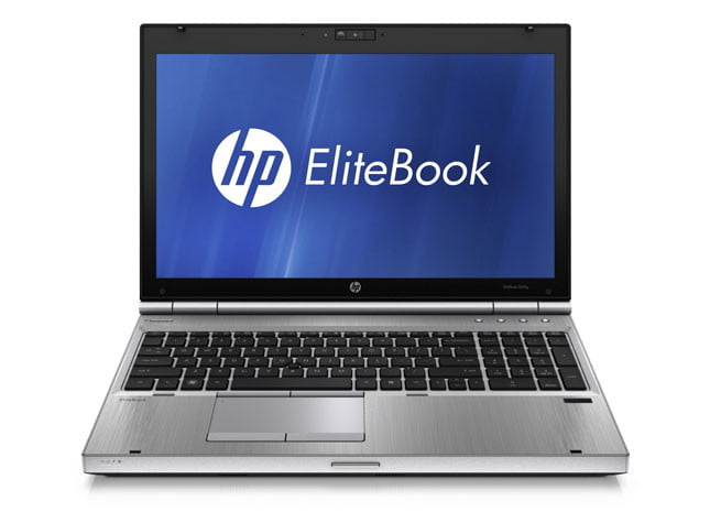 HP EliteBook 8560p front display
