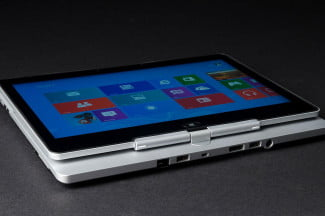 HP Elitebook Revolve tablet mode