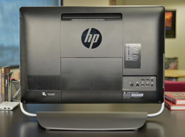 HP Envy 23 rear ports all in one desktop pc