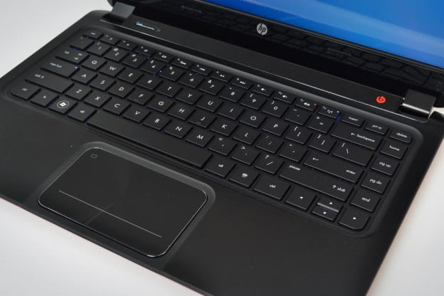HP Envy 4 Ultrabook review keyboard