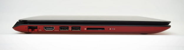 HP Envy 4 Ultrabook review right side ports
