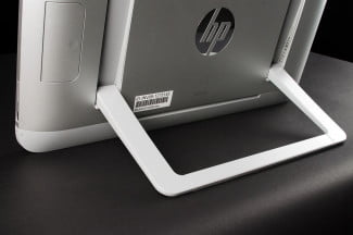 HP ENVY Rove 20 Mobile All_in_One PC rear stand macro