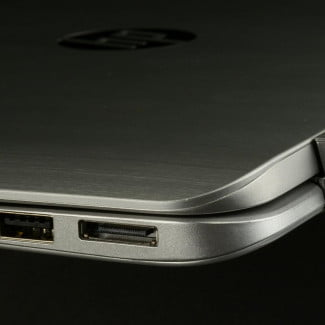 hp envy x2 left side ports macro