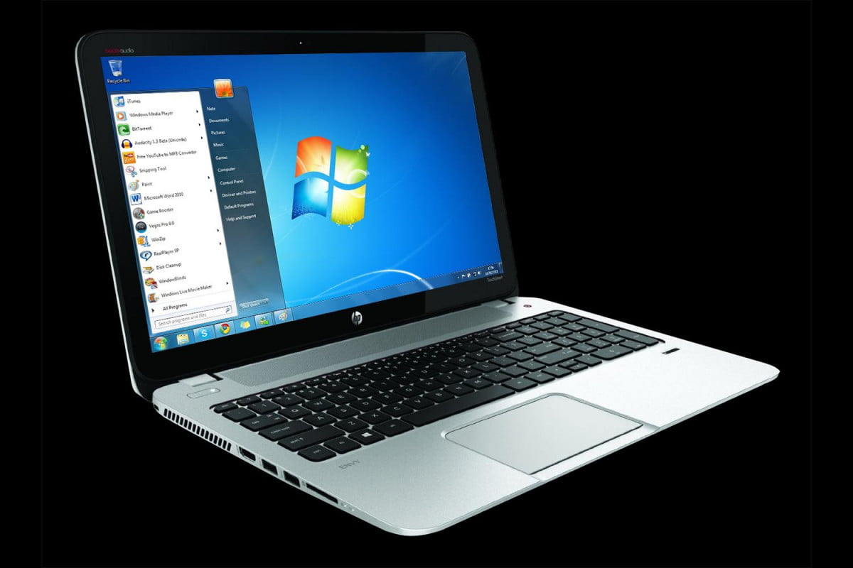 windows  use surges popularity falls hp laptop