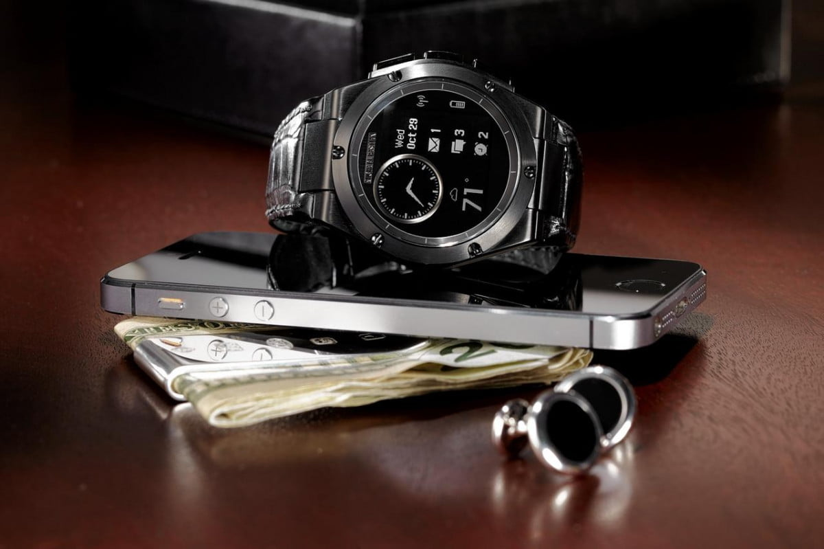 hp chronowing smartwatch heavy watch light smarts mb on wallet