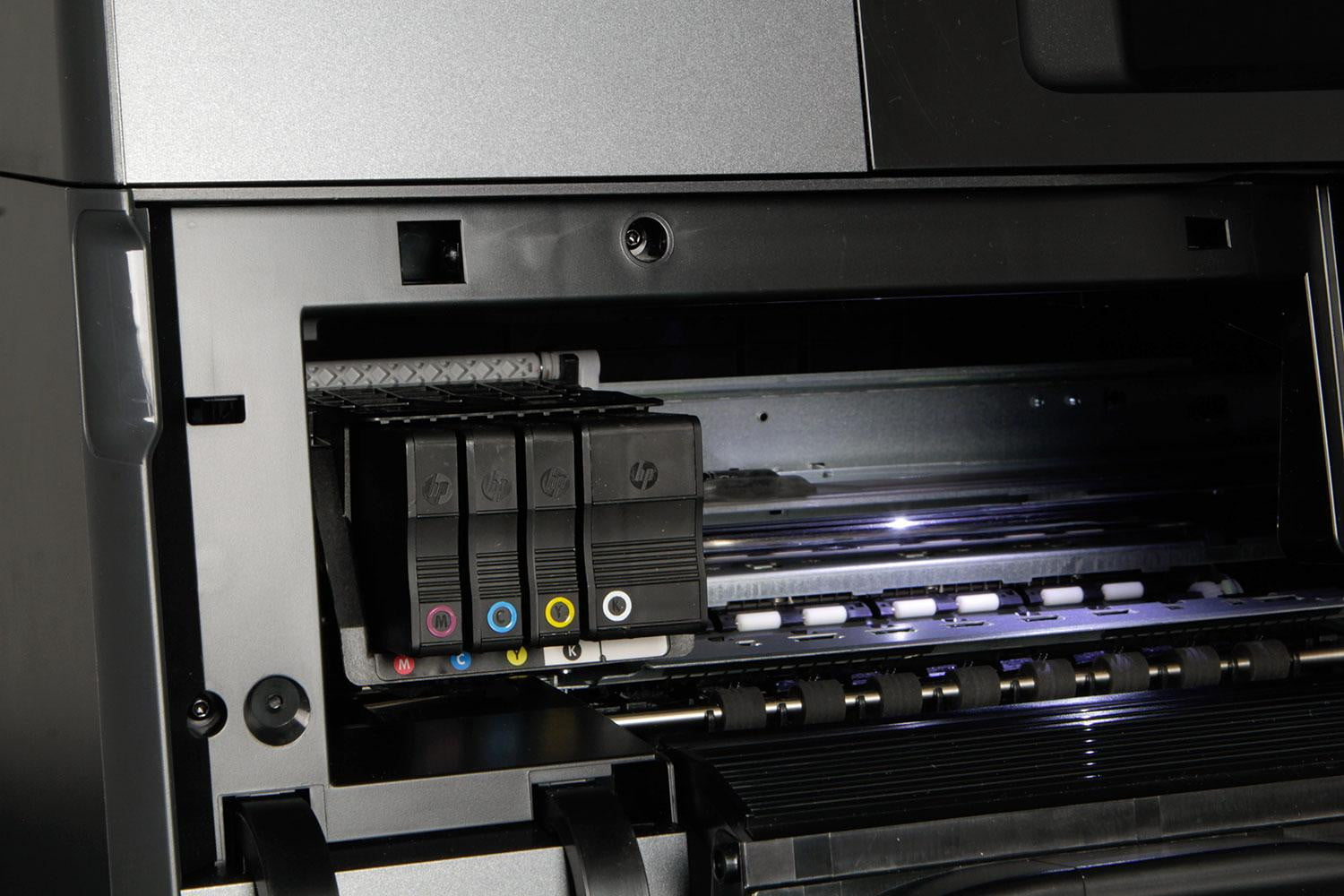 how to change ink hp officejet pro 8620