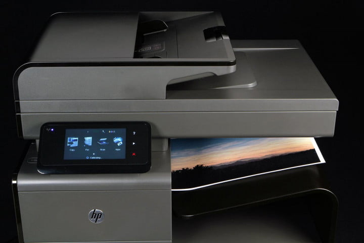 hp officejet pro x  dw mfp review top front