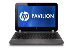 hp pavilion dm z review silver front display