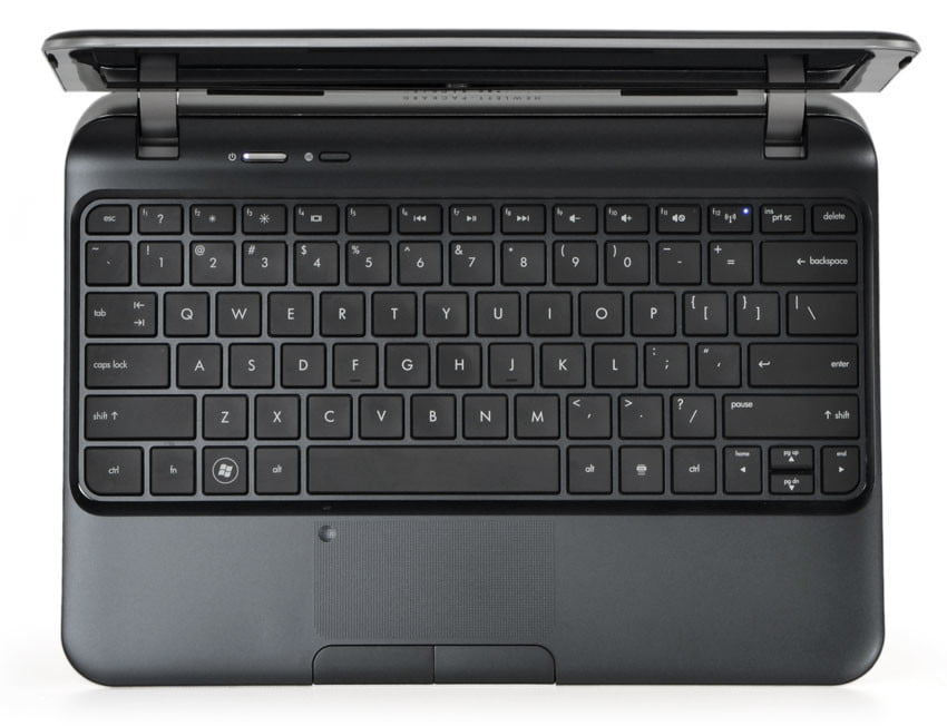 HP-Pavilion-dm1z-review-silver-keyboard