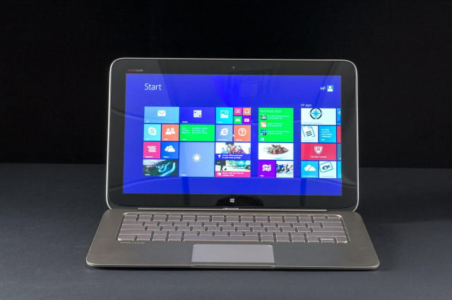 hp to bring skylake spectre x  lineup with inch convertible tablet t front start screen