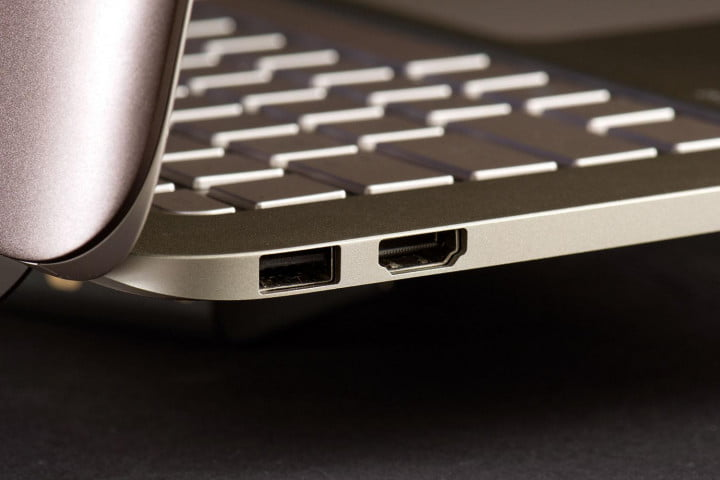 hp spectre  t x review side ports