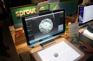 Hands on: HP's Sprout wants to be your 3D creation station