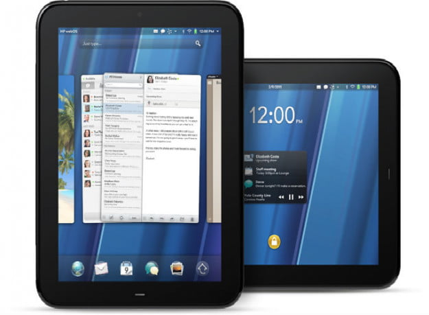 HP touchpad webOS