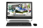 dell inspiron one  review hp touchsmart front