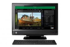 hp touchsmart  review front
