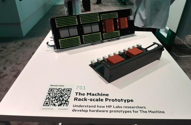hp enterprise will unveil prototype of the machine in  hpthemachine