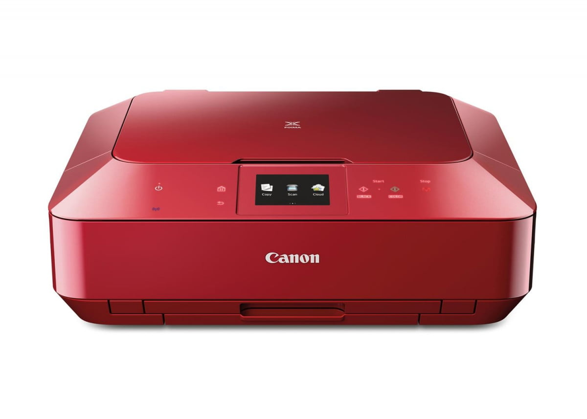 canon pixma mg  and hr as red frontshot cl